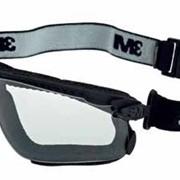 Закриті захисні окуляри Максим Гібрид, полікарб., прозорі фото
