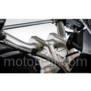 Проставки руля R1200GS 2013 40ММ серебро фото