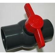 Краны шаровые PVC без резьбы