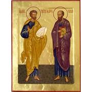 Икона Апостолы Петр и Павел фото