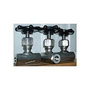 Вентили игольчатые муфтовые стальные (J13H) РУ-160 d15/160 до 32/160 фото