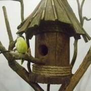 Скворечники, кормушки для птиц деревянные фото