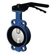 Затвор дисковый поворотный Ду100 Ру16 фото