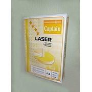 Бумага листовая офисная класса В Captain Lazer форматов А4, А3 фото