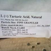 Винная кислота натуральная (L+) фото