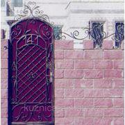 Ворота кованые закрытые фото