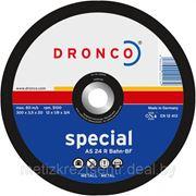 Круг отрезной 230х2,0х22 мм д/мет.Dronco фото