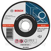 Отрезной круг 125х1,0х22мм д/нерж.ст. (Bosch) (2608600549) фото