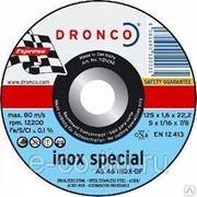 Отрезной круг по нерж. тонкий AS46 INOX special 125*1.6*22 фото