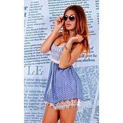 Платье подкладка гипюр Д фото