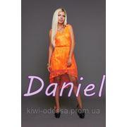 Платье DL гипюр двойка фото