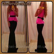 Платье юбка в пол пояс завязка фото