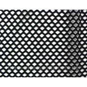 Стрейч-сетка крупная черная фото