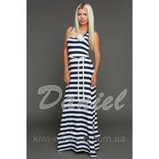 Платье DL полоска Б.е.Ж
