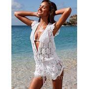 Платье гипюр пляжное фото