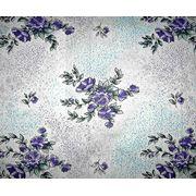 Ткань постельная Яблоневый цвет фиолетовый фото