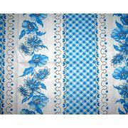 Ткань постельная Ситец Донецкий Вишиванка новая синяя фото