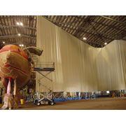 Тентовые шторы ангаров, гаражей, боксов,цехов , мастерских. от 150 грн за метр квадратный (без монтажа) фото