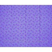 Ткань постельная Зима фиолетовая фото