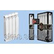 Радиатор биметалл BILUX 10/500 H=570; W=75-87; L=75; bar=30 1.97W масса секции=1,85 кг фото
