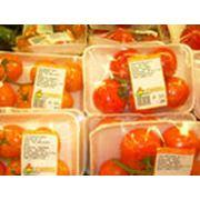 Упаковка овощей и фруктов фото