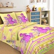 Комплект постельного белья 1,5 СПАЛЬНЫЙ ПЕРКАЛЬ 70 Х 70 Принцесса фото
