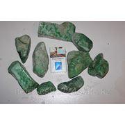 Жадеит зеленый, фракция для галтования