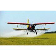 Внесение Средств защиты растений при помощи малой авиации фото