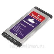 Sandisk адаптер PCI ExpressCard для карт памяти SD, SDHC, MMC, MS Memory Stick Duo Pro фото