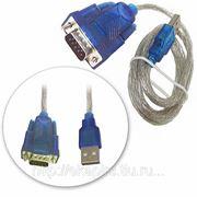 Конвертор COM - порта, USB Am->RS232 9M CBR cb 232 - кабель 1 метр фото