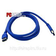 Удлинитель USB*3.0 Am-Af - 1.8 метра (usb-3) фото