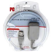 Удлинитель активный USB*2.0 Am-Af Gembird - 5 метров фото