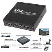 Конвертер адаптер SCART HDMI на HDMI 720P 1080P. фото