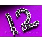 Скобы (клипсы) с гвоздём 12 mm круглые для крепления провода и кабеля - ISO 9001 фото