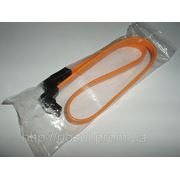 SATA DATA шлейф с замком ORANGE кабель интерфейскный cable flex Serial ATA HDD motherboard COMAX FOXCONN