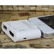 IPad SD + HDMI iPhone iPod адаптер переходник картридер (вывод на ТВ + чтение флешек) фото