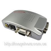 Универсальный конвертер VGA TV RCA converter фото