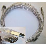 USB удлинители AM to AF (папа-мама) – 5 метров. фото