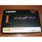 Сплиттер HDMI 1 вх -> 4 вых АКТИВНЫЙ, 220 В фото