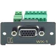 Вставка в рамку переходник с разъема HD-15 (сигналы VGA-UXGA) на клеммный блок Kramer WX-1N фото