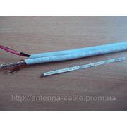 Кабель коаксиальный SL 59 2x0.44 Sprint (48x0,12мм Cu+2x14x0.2мм) бел 305м фото