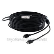 Оптоволовонный кабель для передачи сигнала HDMI, поддержка HDCP Kramer C-FOHM/FOHM (1.3) —33 10 м фото