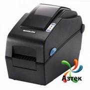 Принтер этикеток Bixolon SLP-DX220EG термо 203 dpi темный, Ethernet, RS-232, кабель, 106531 фото