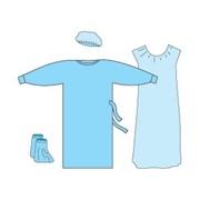 Рубашка для роженицы пл.25 стерильную.1шт. фото