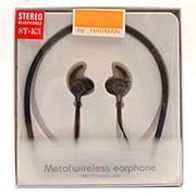 Беспроводные металлические наушники Wireless ST-K3 Black фото