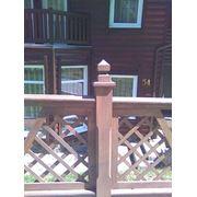 Деревянные заборы под заказ купить цена фото