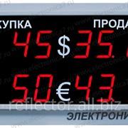 Табло валют Электроника 7 1030 фото