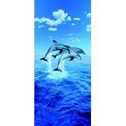 """Фотообои """"Три дельфина"""" Wizard&Genius (Швейцария)"""