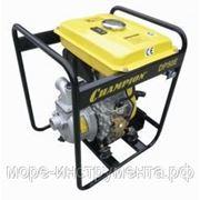 Мотопомпа дизельная Champion DHP40E, чистая вода, 4.4 кВт, 6 л.с., 83 л/мин, ∅ вх/вых. трубы 40/40 мм, 46 кг. фото