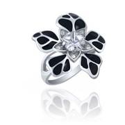 Кольца из серебра 100434 Н КОКЕТКА